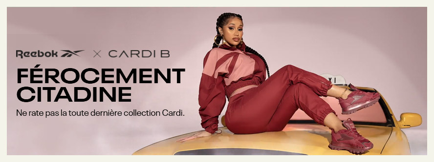26/08/2021 - Cardi B x Reebok | 'Let Me Be…In My World' Collection Capsule