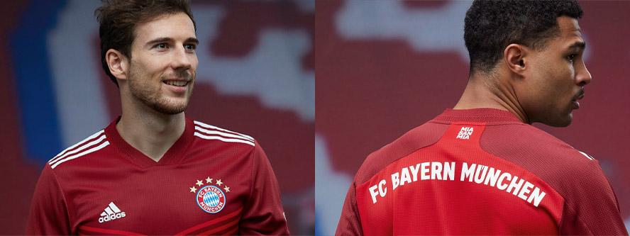 31/08/2021 - ADIDAS x Bayern de Munich | Maillot domicile 21/22 célébrant le 30ème titre Bundesliga du club.