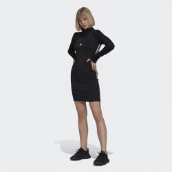 ADIDAS ORIGINALS Robe à manches longues pour femme Adicolor Classics - Noir