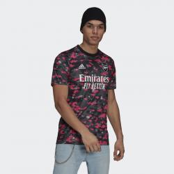 Maillot d'échauffement adidas Arsenal FC pour homme - Rose/Gris/Noir - GR4150
