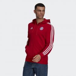 """""""Veste à capuche adidas FC Bayern 3-Stripes Full-Zip pour homme - FCB TRUE RED - GR0690"""