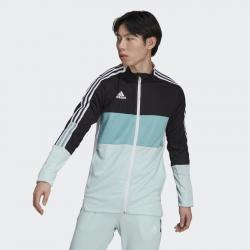 Veste de survêtement de football adidas Tiro pour homme - black/halo mint - GS4725