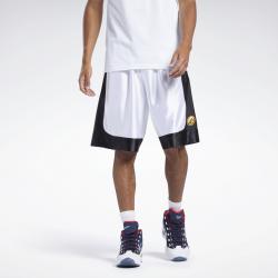 Short de basketball pour homme Reebok Allen Iverson I3 Archive - Blanc - HF2166