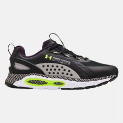 Chaussures de running pour homme Under Armour HOVR Infinite Summit 2 - Noir/Gris/Violet/Vert - 3023633-004