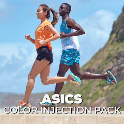 Capsule Asics Color Injection Pack