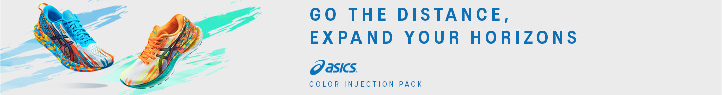 Capsule running Asics Color Injection Pack
