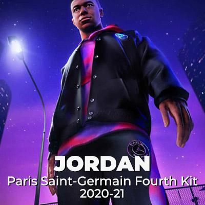 Capsule Jordan x PSG 4TH