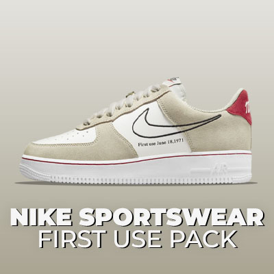 Capsules Nike First Use Pack