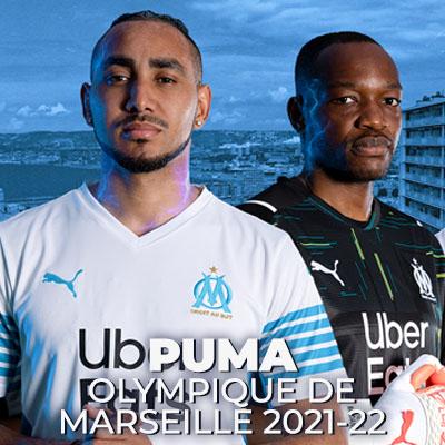 Capsule Puma x Olympique de Marseille 2021-22