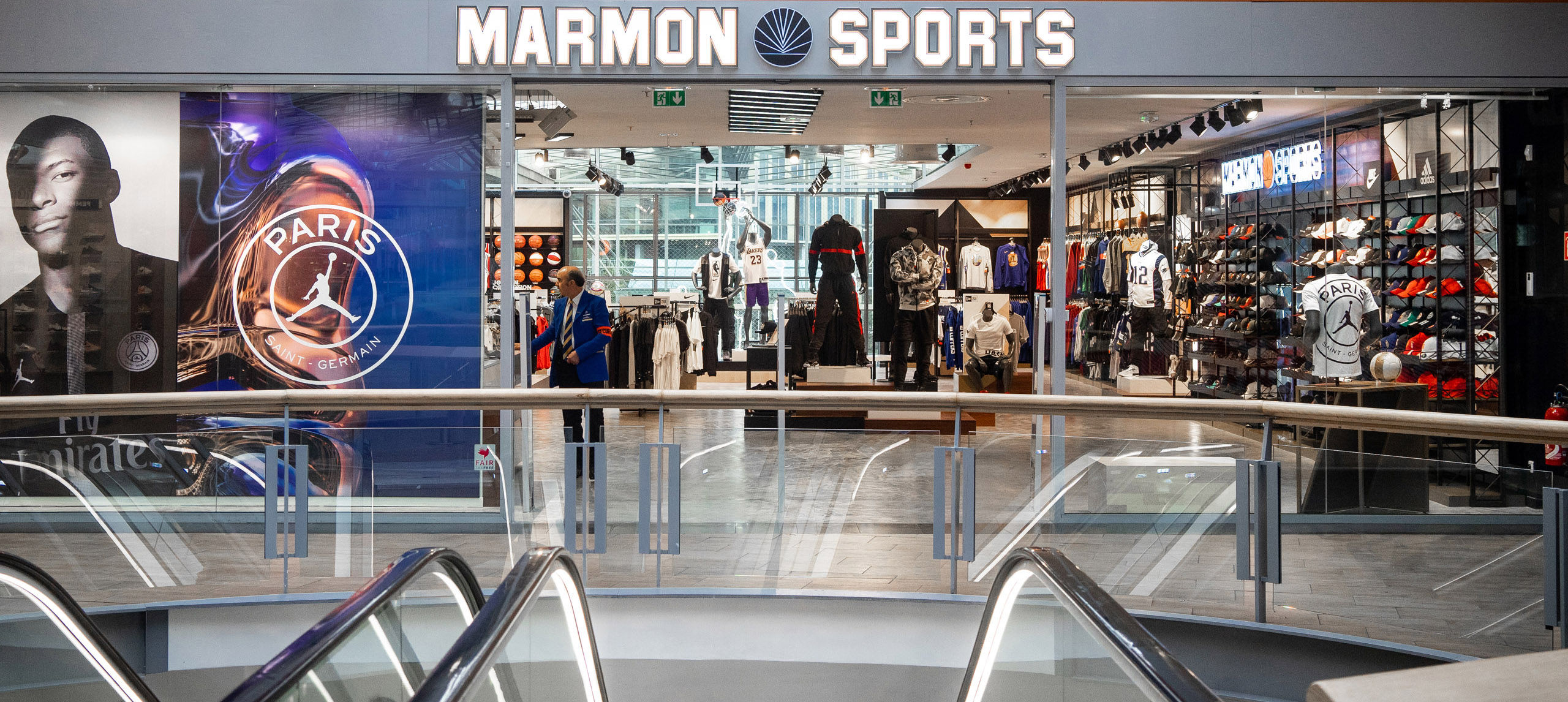 Photo magasin Marmon Sports Le Millénaire Aubervillier