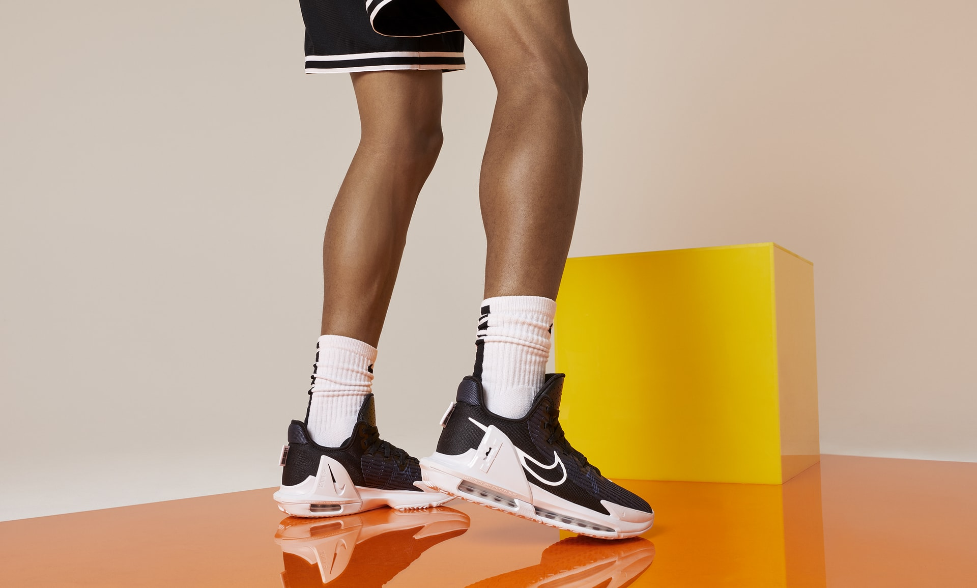 Nike Lebron Witness 6 - Adhérence à chevrons exceptionnelle