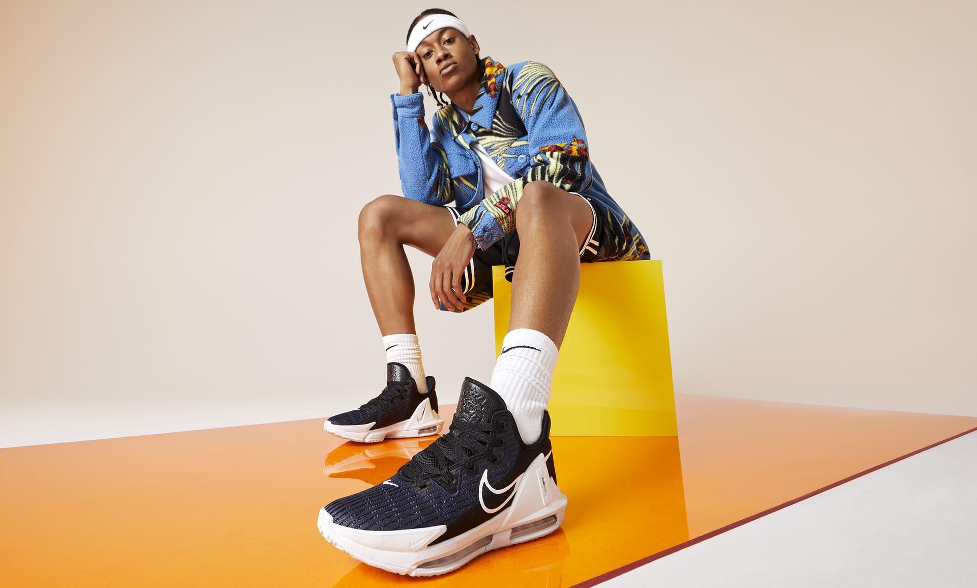 Nike Lebron Witness 6 - Unité d'air visible